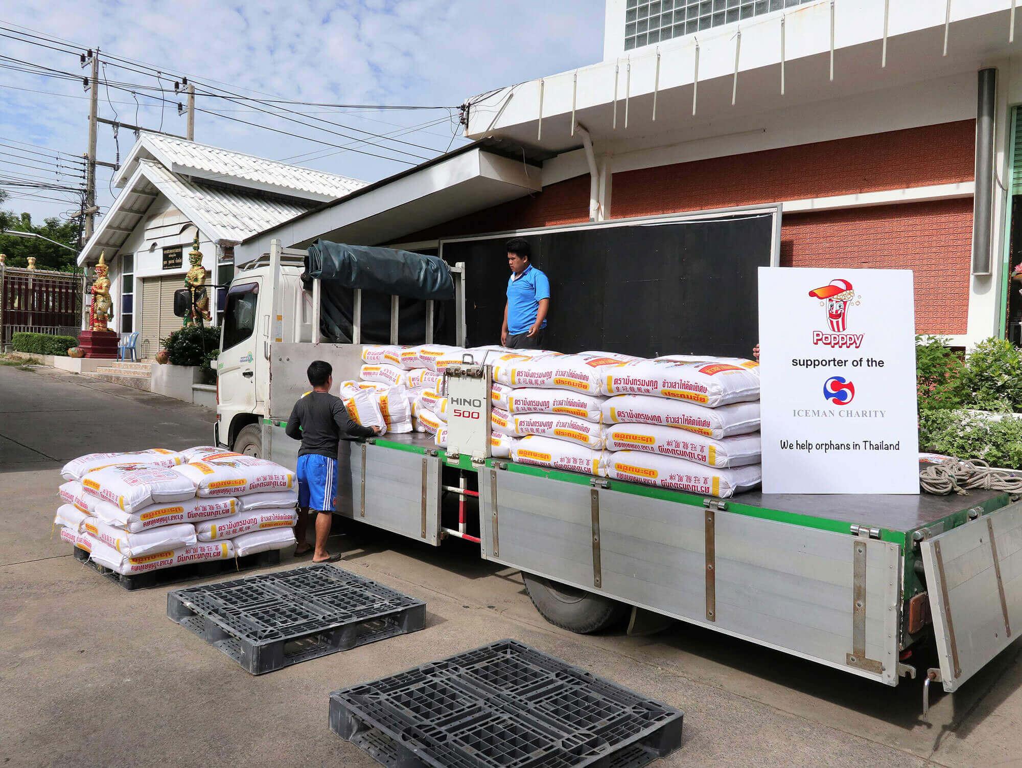 Iceman Charity – Ein Sack Reis für Waisenkinder in Thailand